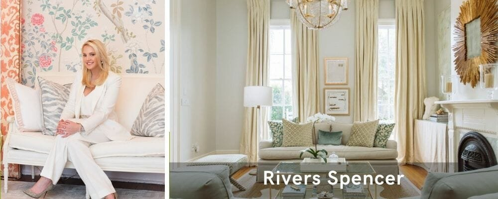 Opulent living room by one of the top interior decorators New Orleans, River Spencer