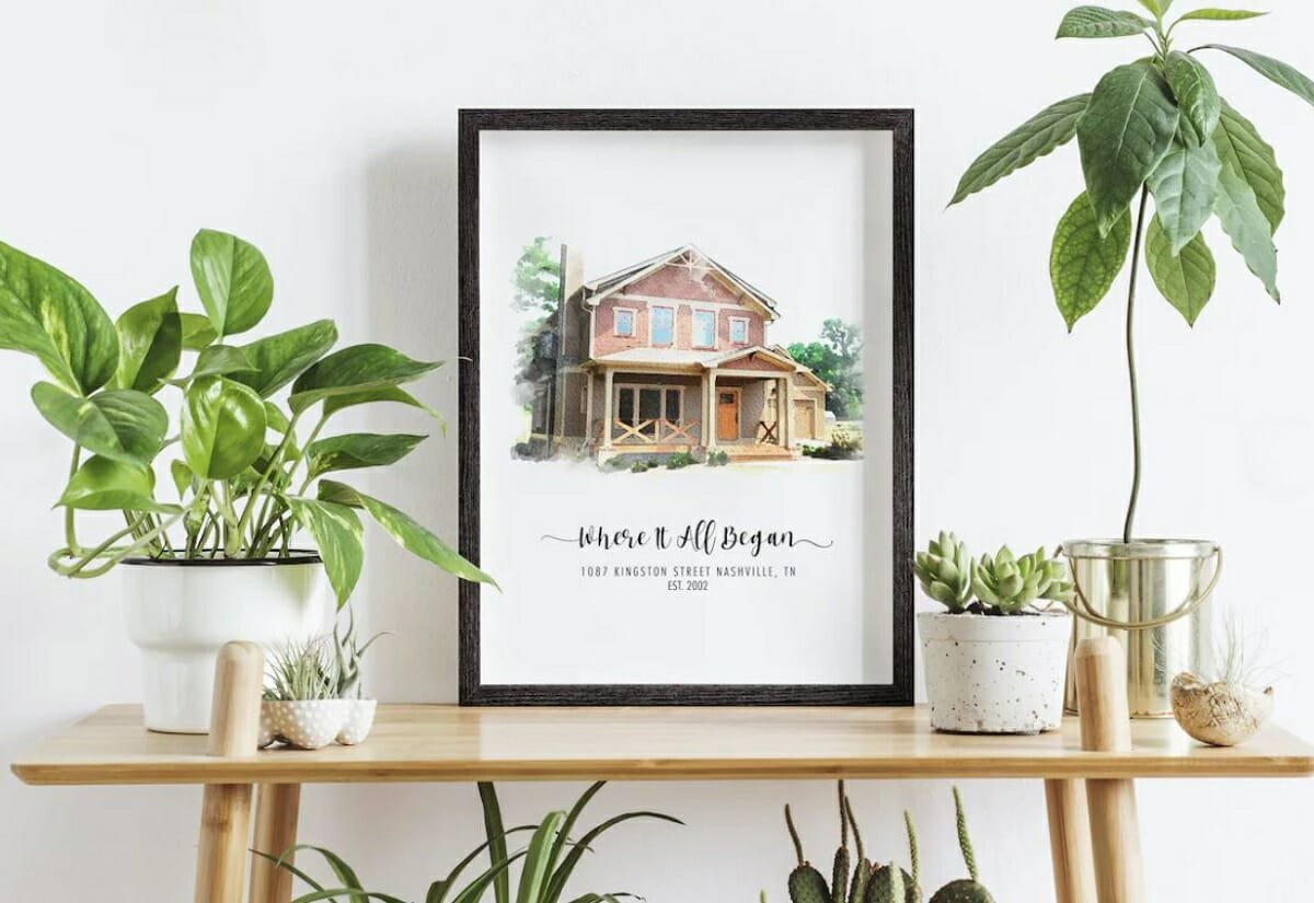 Personalized housewarming gifts