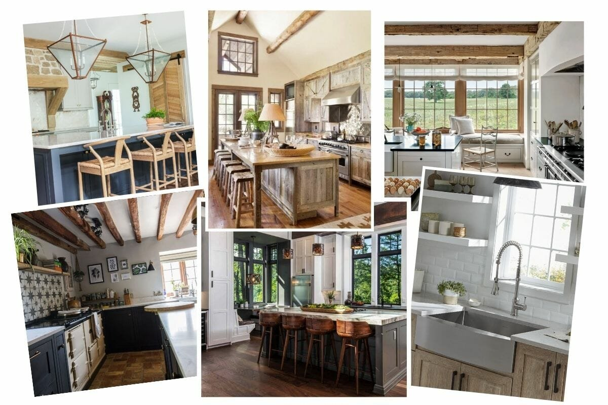 The Inspiration Moodboard for rustic kitchen remodel (1)