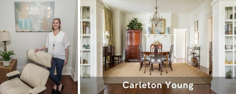 Timeless decor by one of the top New Orleans interior designers, Carleton Young