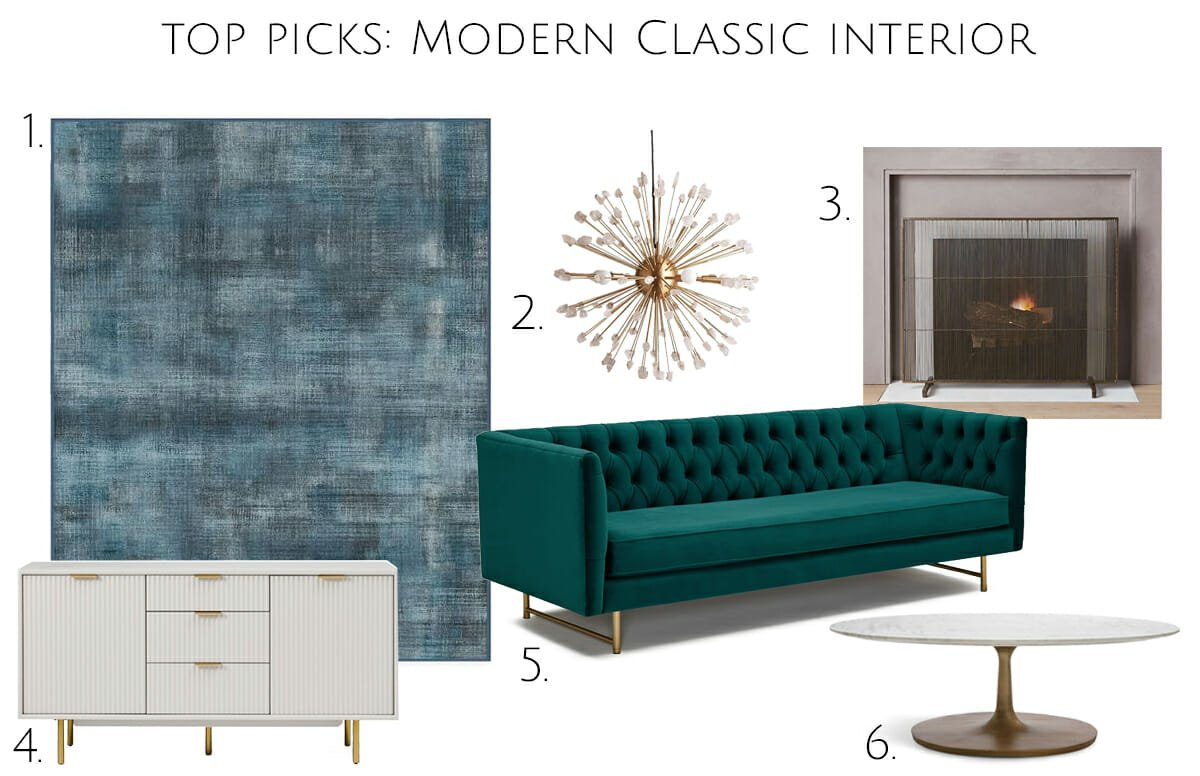 Top Picks Modern Classic Decor