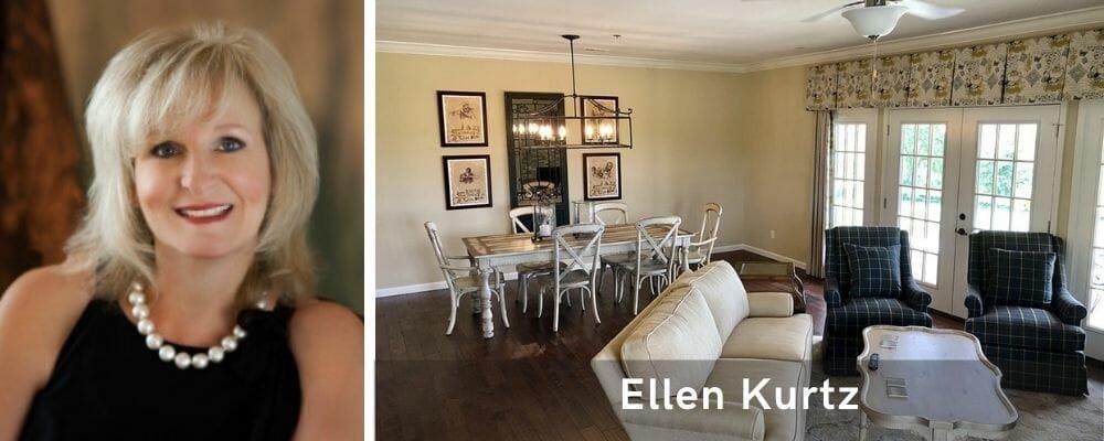 Traditional living room interior design St. Louis