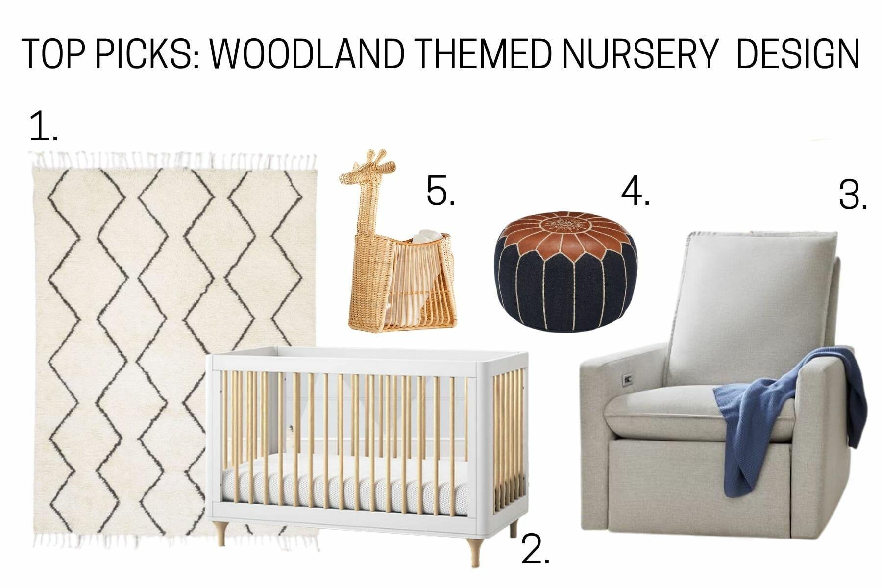 Woodland themed nursery top picks