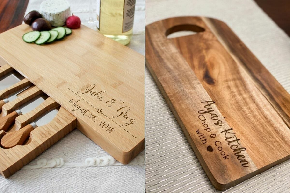 chopping boards as gifts for new homeowners