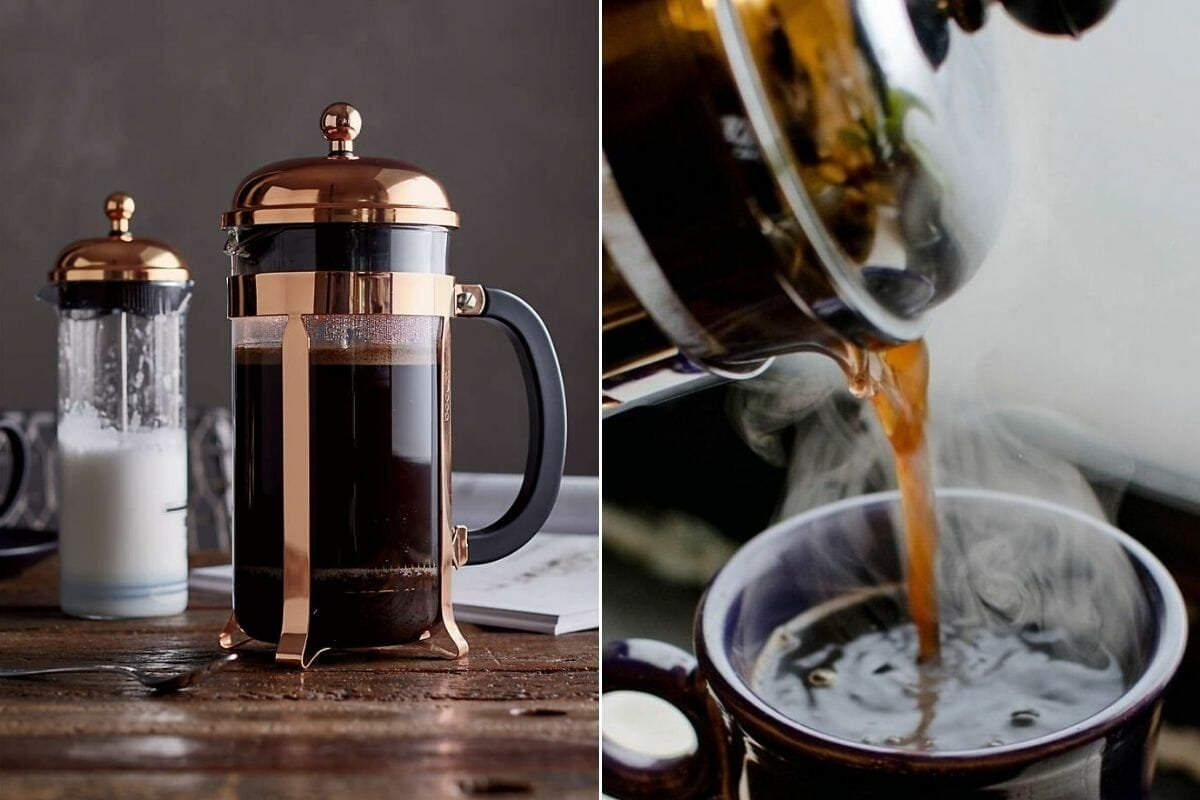 french press as housewarming gifts for men