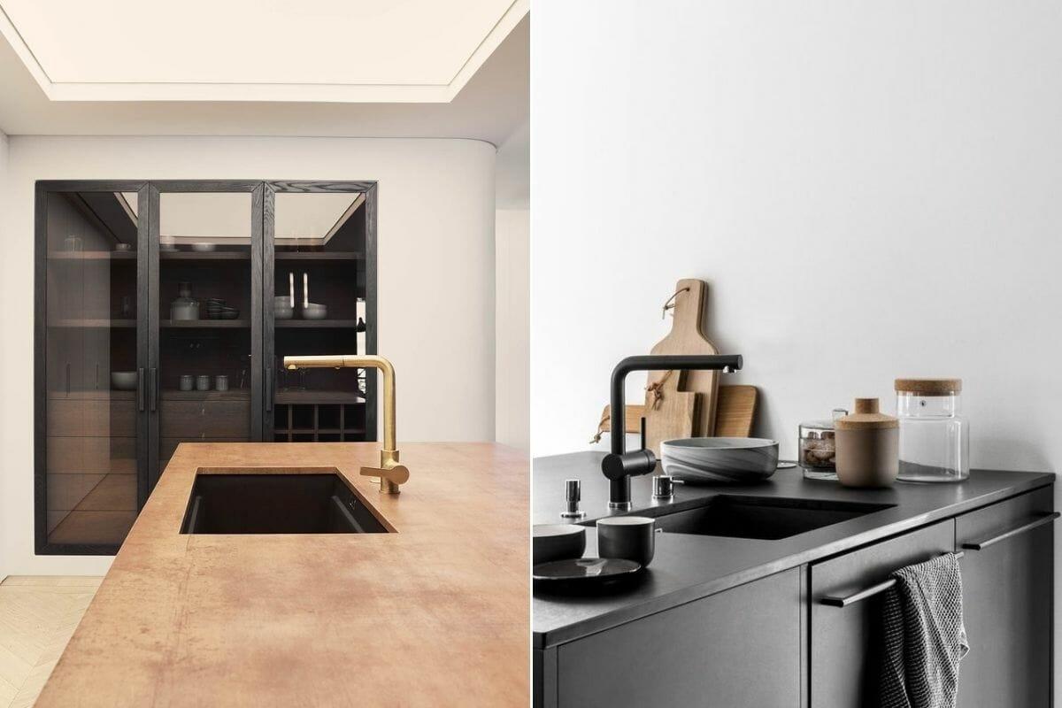 kitchen sink trends 2022