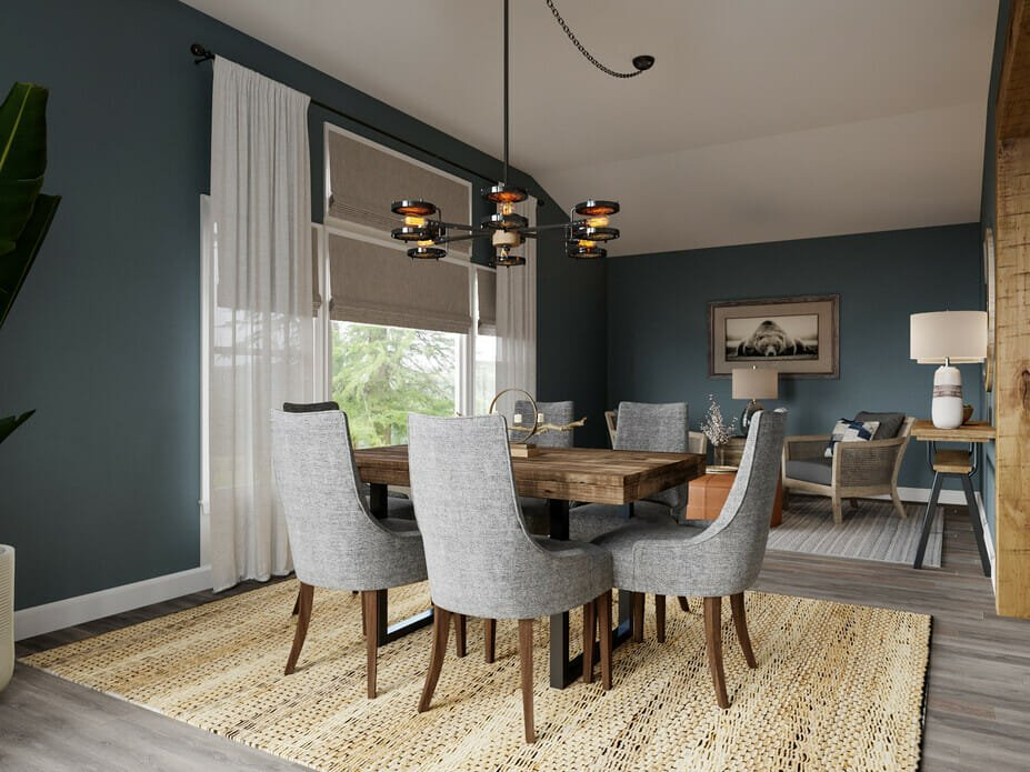 masculine room ideas for a dining room