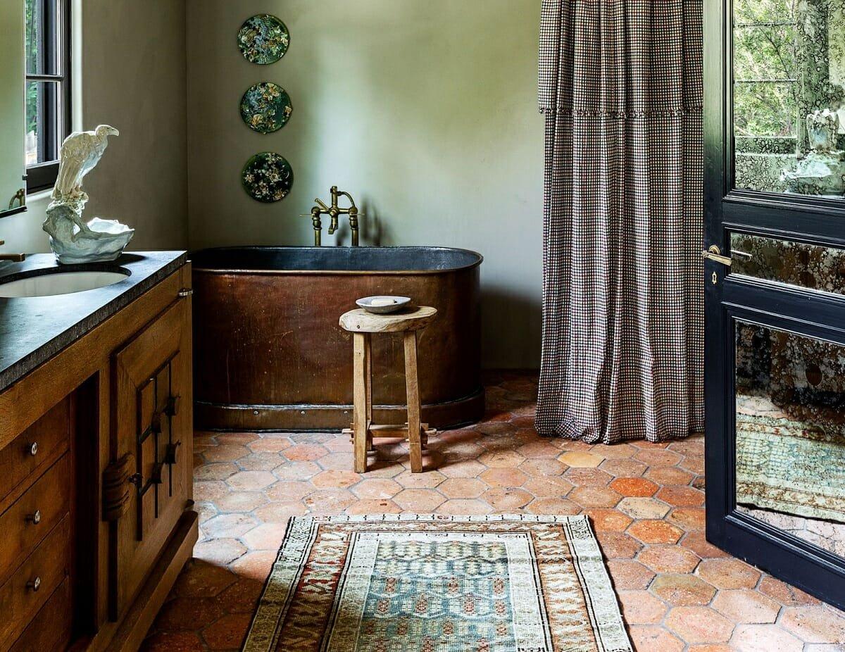 Choosing an area rug - AD