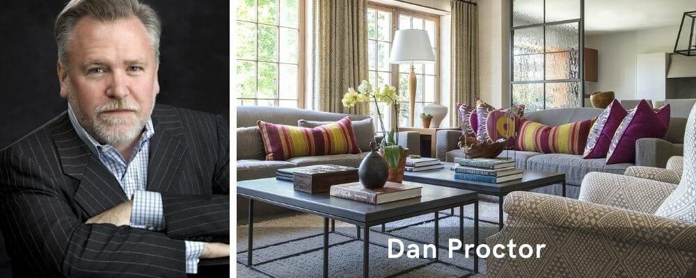 Eclectic living room by top interior decorator in baltimore, Dan Proctor