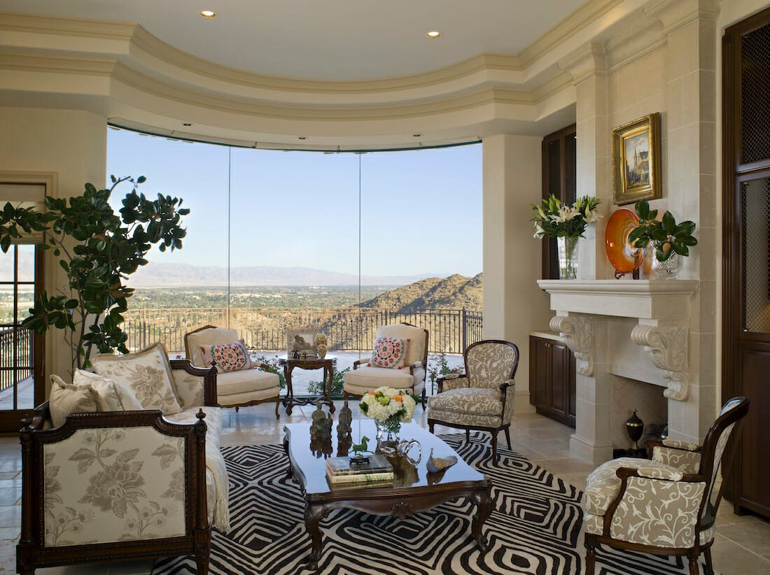 How to choose a rug for the living room by lori d