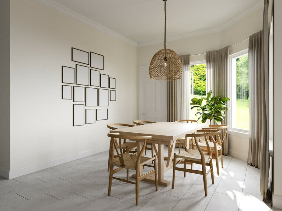 Scandinavian bohemian design